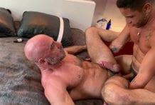Adam Russo & Jack Andy get breed by Brock Banks RAW