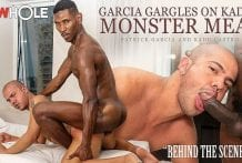 Garcia Gargles On Kadu's Monster Meat: Kadu Castro & Patrick Garcia, Behind the Scenes RAW