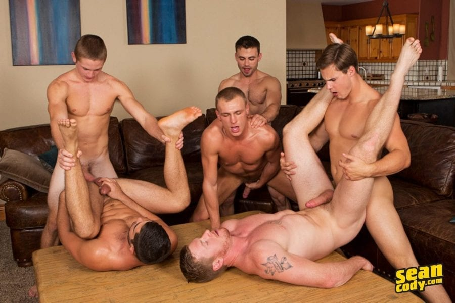 Mountain Getaway, Day 4, POP-UP: Tanner, Bryce, Coleman, David, Andy & Noel (Bareback)