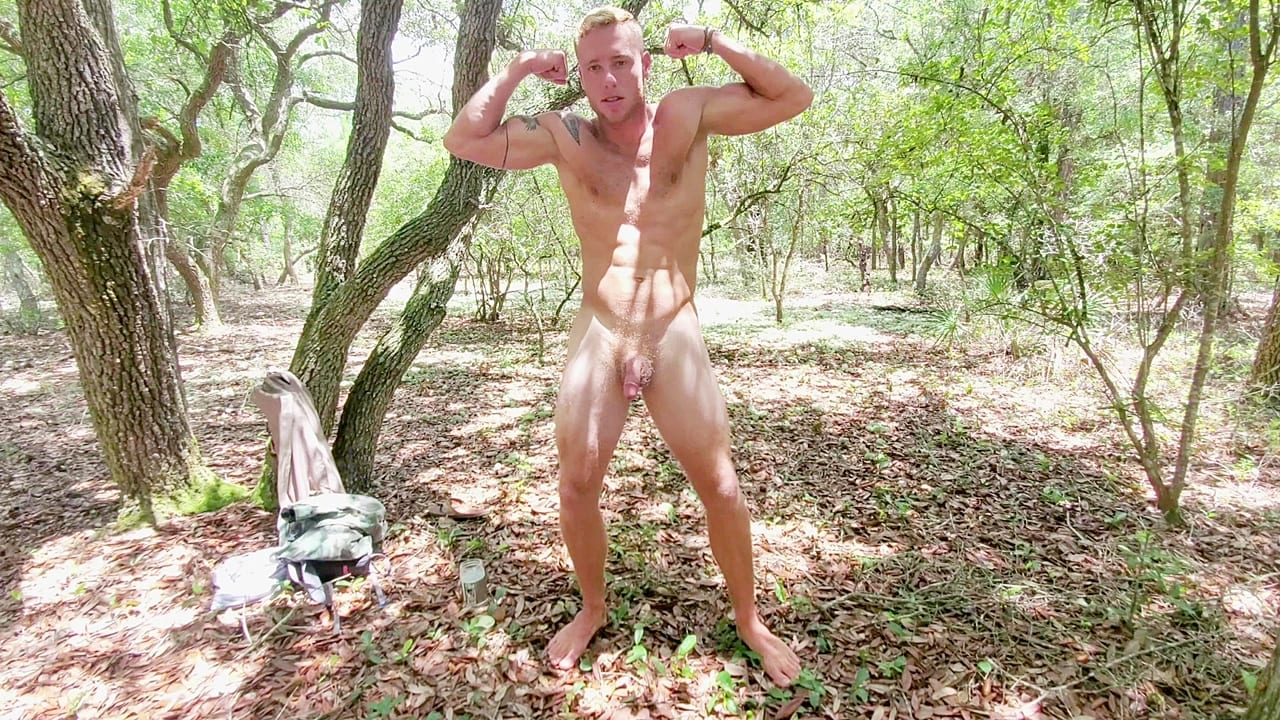 Stroking In The Woods With Justin Matthews