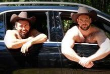 Fisting a Cowboy: Steve Roman & Vinnie