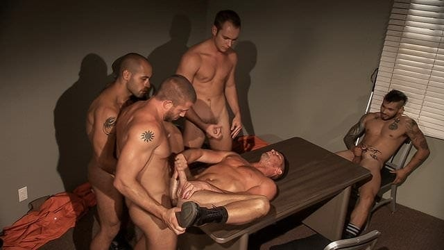 Inmates: Hunter Marx Orgy With Entire Cast