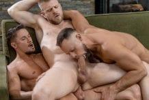 Uncles 3 Way: Skyy Knox, Zayne Roman & Logan Stevens (Bareback)