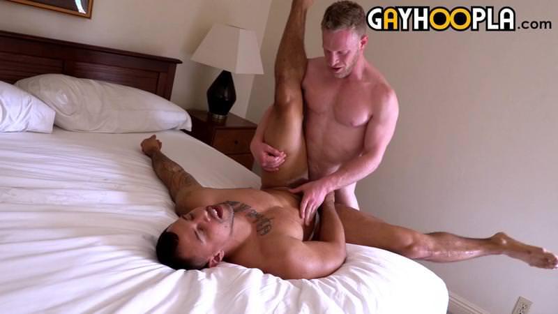 We Wish These 2 Muscle Daddies Tony Romero & Rick Randolph The Best. HOT SEX! Naughty Men.